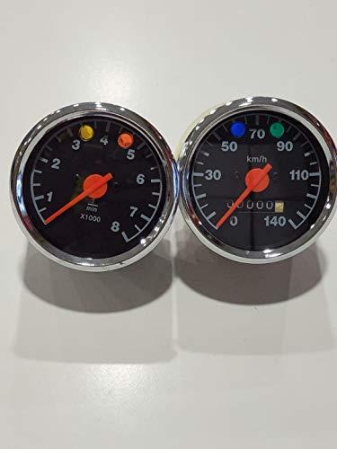 JUEGO DE RELOJES DE MZ TS 250 ETZ 250/251 MZ ETZ TS Speedometer and Tachometer (ETZ 251)