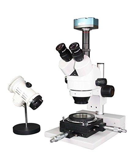 Radical Forensics Bullet Inspektion Stereo Zoom Mikroskop mit 100 mm Wd – Drehbühne & USB-Kamera