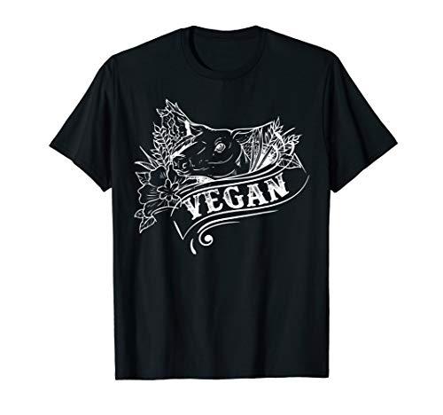 I Don't Eat My Friends, Girls Pig Tee Vegan Vegetarian T-Shirt