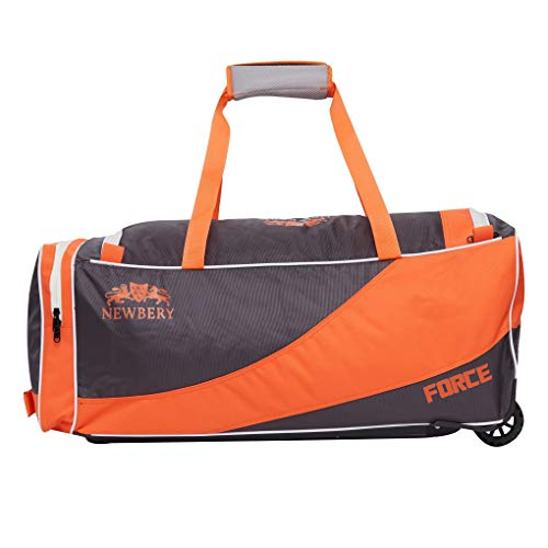 Newbery Cricket Force Cricket-Tasche, orange/grau, Einheitsgröße