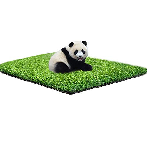 Artificial Grass 4FT X 7FT(28 Square FT),Turf Lawn ,Perfect for Outdoor Decor,Garden, Lawn, Patio, Backyard, Balcony,Mat, CarpetAlso Used as Mat for Pets,Training Pads,Dogs Potty,Dog mat
