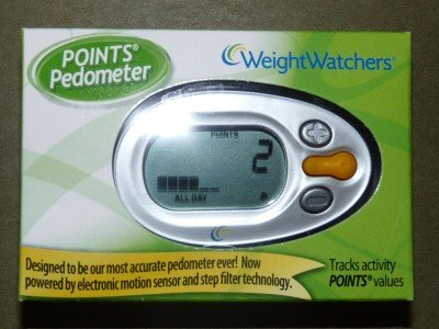 Weight Watchers Pedometer with Points Tracker ~ Motion Sensor!