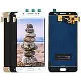 Reemplazar la pantalla En forma for el Samsung Galaxy ajuste for J5 2016 LCD SM-J510F J510FN J510G J510 puede ajustar el brillo de la pantalla táctil Digitizer + LCD Parte Asamblea ( Color : Gold )