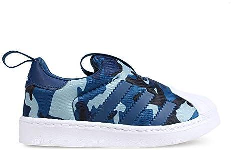 Adidas Superstar 360 I, Zapatillas de Estar por casa Bebé Unisex, Multicolor (Marley/Marley/Ftwbla 000), 20 EU