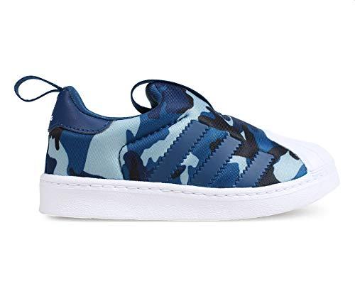 Adidas Superstar 360 I, Zapatillas de Estar por casa Bebé Unisex, Multicolor (Marley/Marley/Ftwbla 000), 22 EU