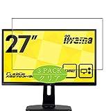 Vaxson 3 Stück Schutzfolie kompatibel mit iiyama Monitor XB2783HSU-B3 27', Displayschutzfolie Bildschirmschutz Blasenfreies [nicht Panzerglas]