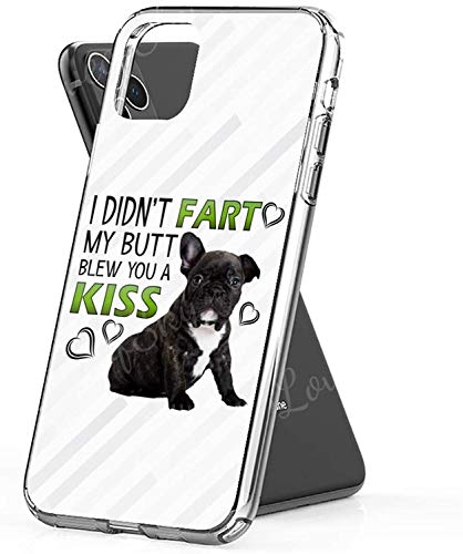 French Bulldog Black Frenchie Phone Cases for Apple iPhone XR - Premium Scratch-Resistant, Shockproof Protective Cute Creative Design - Apple iPhone XR Case