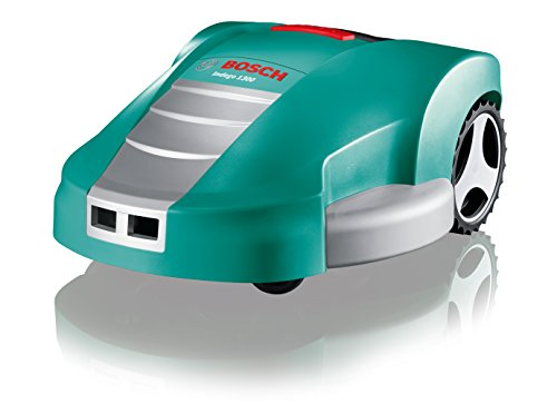 Bosch 06008A2200 Indego 1300 Round Robotic Lawnmower - 26 cm Cutting Width, 20-60 cm Cutting Height