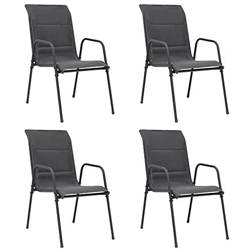 chaise empilable leclerc