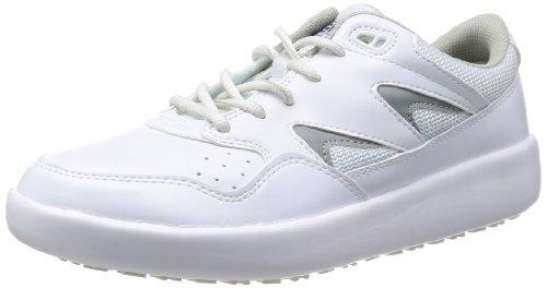 [ミドリ安全] 作業靴 耐滑 スニーカー ハイグリップ H710 N メンズ ホワイト 22.5