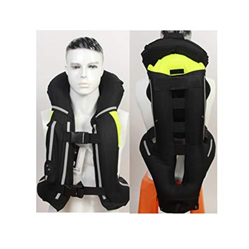 Chaleco Airbag Chaleco De Moto Con Airbag Tejido De Material 600D, Resistente Al Desgaste Y Resistente A Caídas Chaleco De Ciclismo Cuatro Estaciones Adecuado Para Montar A Caballo, Ecuestre.
