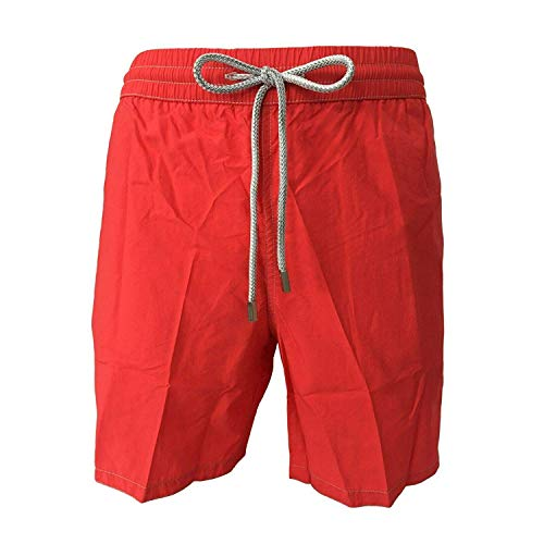 Zeybra Männerkostüm Boxer-Shorts Red Race Mod AUB001 100% Polyamid Made in Italy (56)