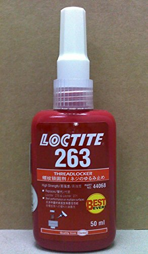 Loctite 44068 263 Threadlocker 50ml Replaces Loctite 270 Loctite 271 by Loctite