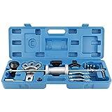 FreeTec 16pc Slide Hammer Dent Puller 2/3 Jaw External Internal Oil Seal Bearing Remover