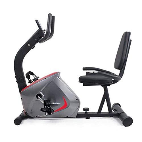 Bicicleta de ejercicio familiar Bicicletas de gimnasio de interior para el hogar Equipo de fitness horizontal Bicicleta giratoria de extremidades inferiores Volante magnetrón (deporte de interior)