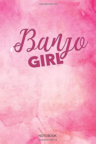 Banjo Girl Notebook: Dot Grid Journal 6x9 – Banjo Musician