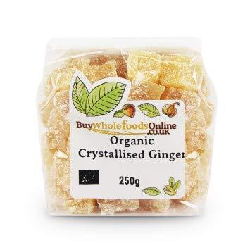Buy Whole Save money Foods Organic 250g New Free Shipping Ginger Crystallised
