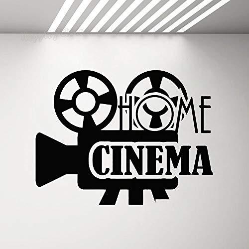 Tianpengyuanshuai Etiqueta Pared Cine casa Logotipo
