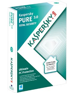 Kaspersky pure protection - boîtier DVD - 1 an / 3 postes