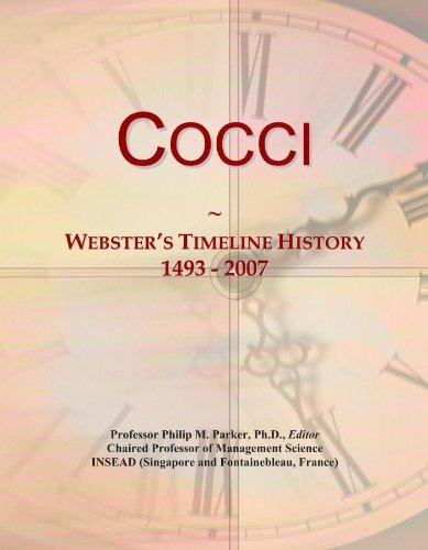 Cocci: Webster's Timeline History, 1493 - 2007