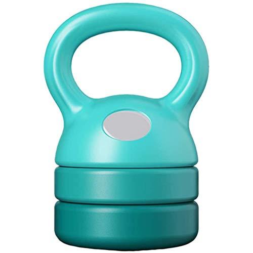 DPPAN Aus Gusseisen Fitness-kugelhantel, einstellbar schwere Übung Kettle Gewicht Set Krafttraining und Gewichtheben Ausrüstung für Kraftstationen,Blue