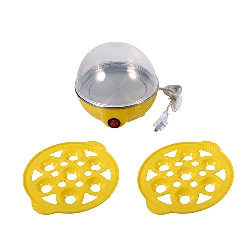 JULYKAI Vaporera Multifuncional para Huevos de Doble Capa con Cocina automática Vaporera...