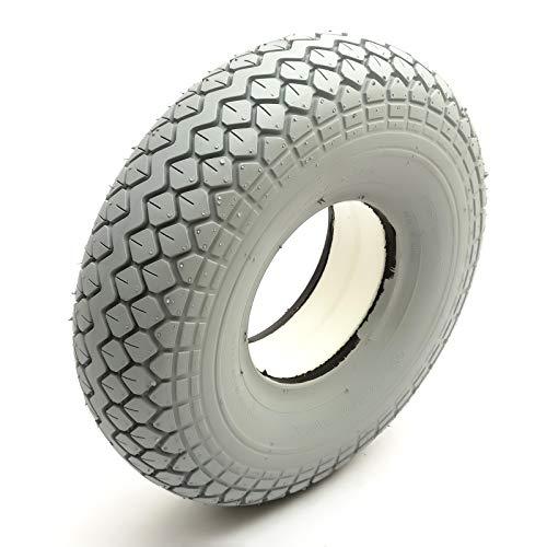 Concentrado PU Neumático 330x100 Gris Punción Prueba Scooter Movilidad Diamante Diseño 5 Inch Borde