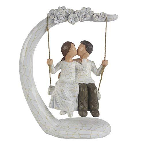 Hand Painted Romantic Sculpture