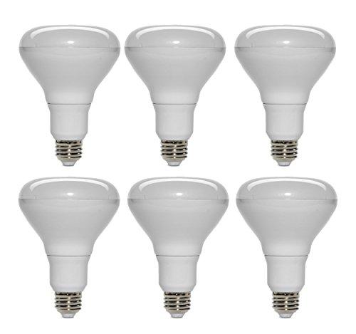 Set of 6 Opto Light BR30 Energy Saving 14 Watt = 60 Watt Equivalent Dimmable Bulb for Track Lights, Recessed Fixtures Standard Base
