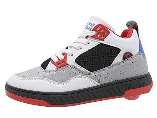 Breezy Rollers 2182700, Rollschuh, Schuhe mit Rollen, 2-in-1 Kinderschuhe, Skateboardschuhe, Sneakers (36)