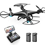 Holy Stone HS110D FPV RC Drone with 1080P HD Camera Live Video 120°Wide-Angle WiFi...