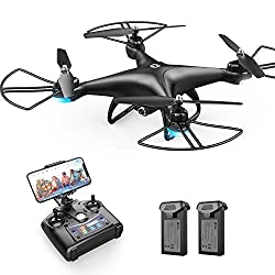 powerful Holy Stone HS110D FPV RC Drone 1080P HD Camera Live Video Wide Angle Quadcopter Wi-Fi 120 °…