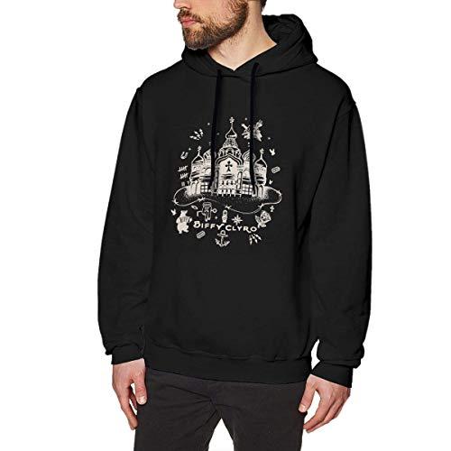 Hdadwy Herren Biffy Clyro Bellahouston Papk 2016 Hoody Schwarz mit Herren Sweatshirts