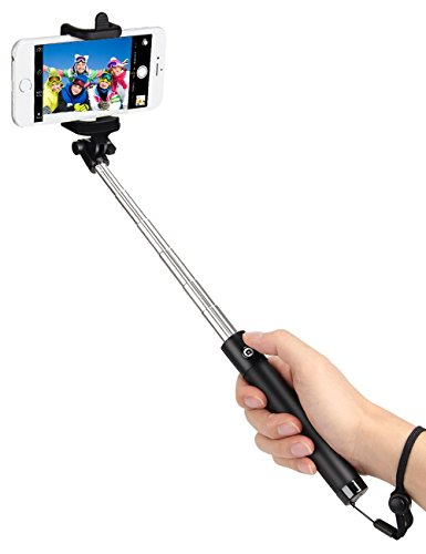 Merrybird Bluetooth Selfie Stick for iPhone 7 Selfie Stick iPhone 7 Plus best Selfie Sticks iPhone 6 Plus other Smartphones