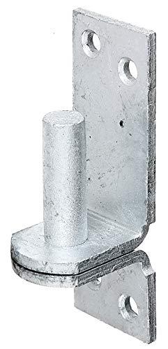 GAH-Alberts 311209 klokej na płycie | w wersji z hakami DI lub DII | cynkowana ogniowo | wymiary trzpienia Ø 13 mm | płyta 100 x 35 mm