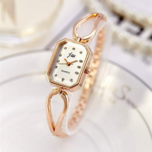 TOWQEM Frauen Neue Marken -Art- undLuxusuhren Diamant -Quarz -Damen -Armbanduhr -Frauen -Kleid -Armband -Uhren Geschenk -Uhr -UhrRoségold