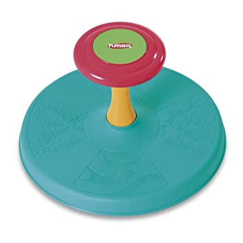 Playskool Sit 'n Spin Classic Spinning Activity Toy for Toddlers Ages Over 18 Months  Amazon Exclusive