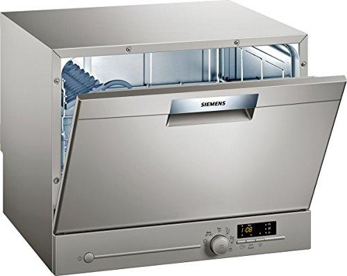 Siemens SK26E821EU iQ300 Lavavajillas A+, 174 kWh/año, 6 MGD, 2240 l/año, silencioso, AquaStop