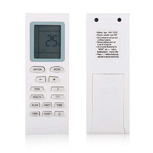 Control remoto del aire acondicionado para Gree YBOF, reemplazo del control remoto universal para Gree YBOF YB1FA YB1F2 YBOF1 YBOF2 YBOFB Y502K