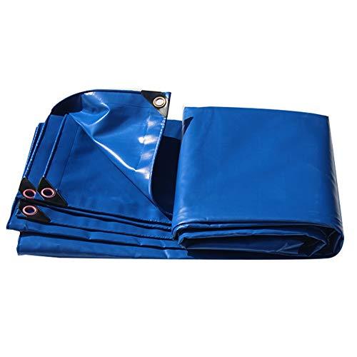 WHAIYAO Lona Resistente Tienda De Sombra Al Aire Libre Impermeable Anti-UV con Ojal Y Bordes Reforzados, 13 Tamaño (Color : Blue, Size : 2X1.5M)