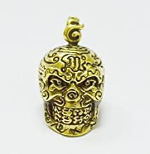 Authentic Buddha Amulets Thai Pendants Skull Amulet LP Lek,Wat TamKaoNoi,Phetchaburi Province Thailand