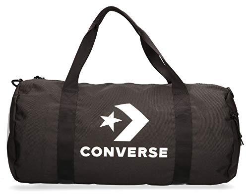 Converse Sport Duffel-Large Sporttasche, Unisex, Erwachsene, Schwarz, 27,5 l