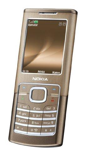 Nokia 6500 Classic Bronze (UMTS, GPRS, EGPRS, 2 MP, Musik-Player) Handy
