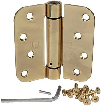 Hager Heavy duty spring loaded door hinges 2-pack