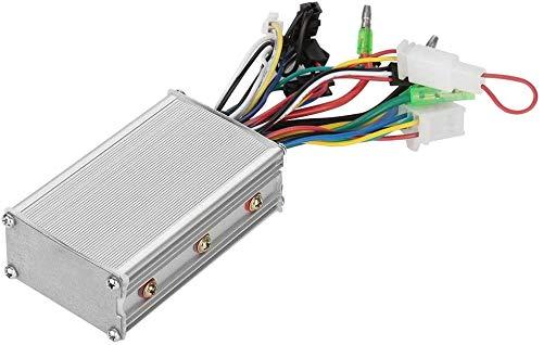 Starbun Controlador de Velocidad del Motor, 36V / 48V 250W Controlador de Motor sin escobillas for Bicicleta eléctrica Vespa