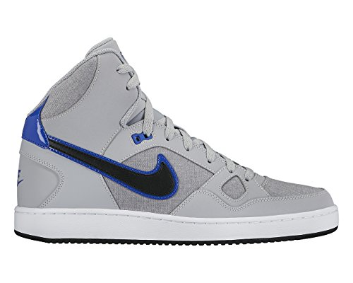 Nike Men's Son of Force Mid Wolf Grey/Black/White/Game Royal 9.5