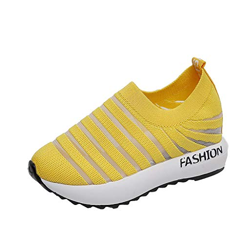 Makalon Paar Mode Freizeit Laufsport Socken Schuhe Damen Student Beiläufig Elastisch Leichtgewichtige Turnschuhe Mädchen Sport Schuhe Stiefeletten Slip On Schuhe Net Schuh