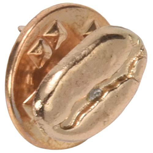 Kaxofang Rot Cooper Alte Silber Kaffee Bohnen Pin Emaille Pins Tasche Rucksack Jeans Jacken Schmuck für MMnner Frauen Gold