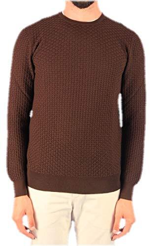 Luxury Fashion | Gran Sasso Heren 5710914240189 Bruin Wol Truien | Herfst-winter 19