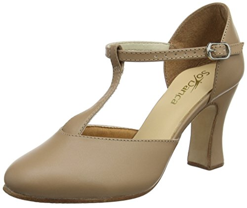 Top 10 best selling list for so danca t strap character shoe 3 tan